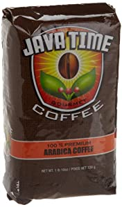 JAVA TIME GOURMET COFFEE Ground Coffee, 26-Ounce (Pack of 3)