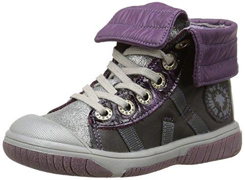 Babybotte - Artiski2, Sneakers per bambine e ragazze, grigio (412 gris/violet), 22