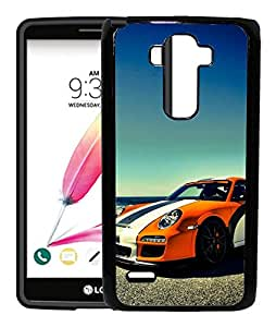 FCS Printed 2D Designer Hard Back Case For LG G4 Stylus (LGH630D) With Universal Mobile Stand