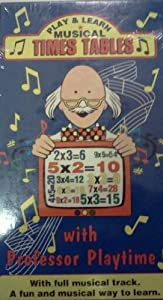 Play & Learn Musical Times Tables