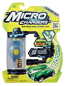 Micro Chargers Launcher Pack with Stunt Car (color may vary)