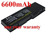 11.10V,6600Mah,Li-Ion, Replacement Laptop Battery For Dell Inspiron 1501, Inspiron 6400, Inspiron E1505, Latitude 131L, Vostro 1000,
