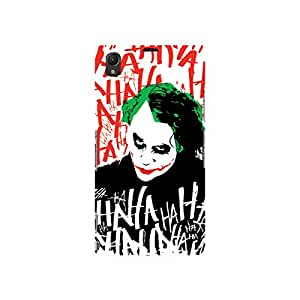 Warner Bros Dark Knight-Batman Joker HAHAHA Back Cover for Sony Xperia Z1 (Multicolor)