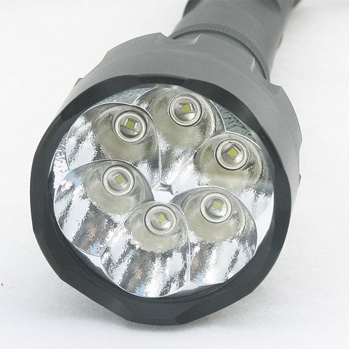 LEDwholesalers Tactical 6 x 3 watt Cree LED 1500