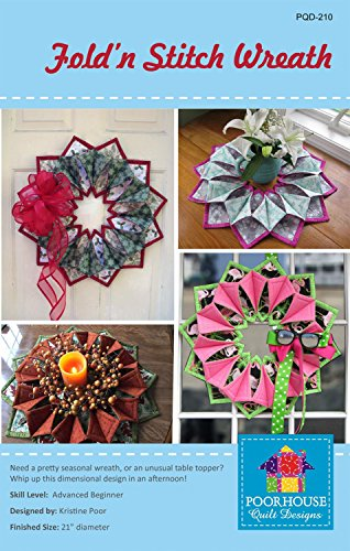 Find Discount Fold'n Stitch Wreath pattern (pattern only-not the finished project)