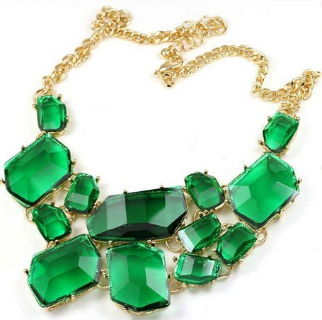 Wiipu Freeform bubble Bib Necklace Statement Fashion Necklace(wp-13)