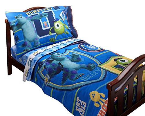 Disney Monsters University 4 Piece Toddler set (Monster Inc Quilt compare prices)