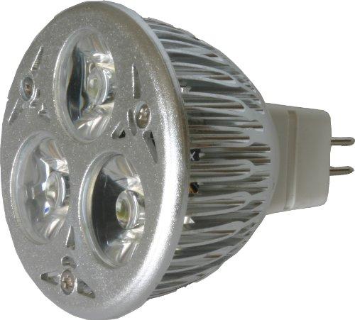 Led Mr16 Spotlight 12V 3W (240 Lumen - 25 Watt Equivalent) Halogen Replacement Bulb Warm 2900K