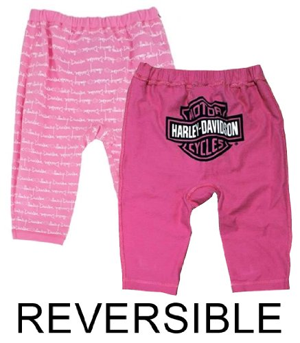 Harley-Davidson Pant Pink French Terry
