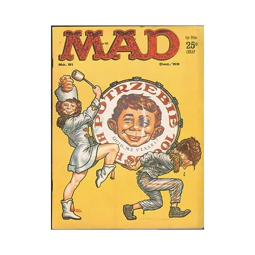 MAD Magazine No. 51, December 1959, Feldstein, Albert B. (editor)