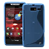 Fosmon DURA S Series TPU Case for Motorola DROID RAZR M 4G LTE / XT907 - Blue