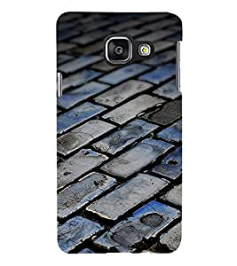 Bricks Modern Design 3D Hard Polycarbonate Designer Back Case Cover for Samsung Galaxy A3 :: Samsung Galaxy A3 Duos :: Samsung Galaxy A3 A300F A300FU A300F/DS A300G/DS A300H/DS A300M/DS