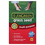 Value Pack of 2 - EverGreen Multi Purpose Grass Seed 28 sq m Carton