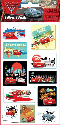 Paper Magic Cars 2 Foil Layered Sticker Book - 1