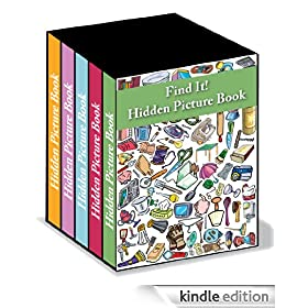 Find It! Boxed Set of Hidden Picture Books