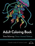 img - for Adult Coloring Book: Ocean Animal Patterns book / textbook / text book