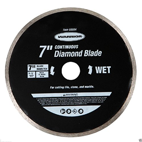 7 in Continuous Rim Wet Cut Diamond Blade 1