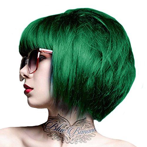 Couleur de cheveux vert