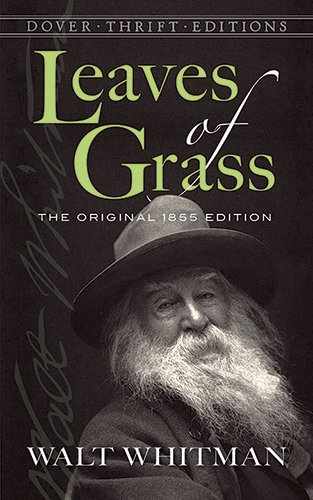 Leaves of Grass: The Original 1855 Edition (Dover Thrift...
