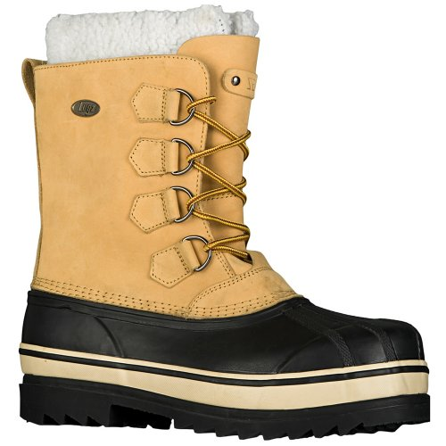 Lugz Men's Geyser Winter Boots,Wheat/Cream/Black,13 D US
