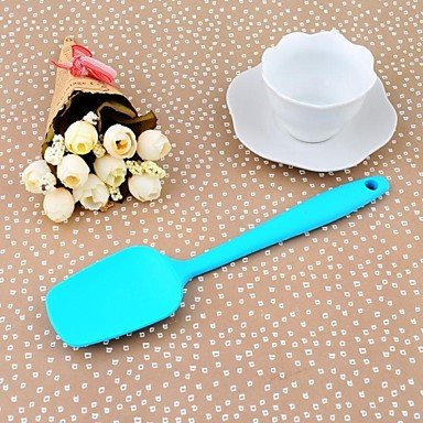 JJE25.5CM*6CM*1CM High Quality Silicon Kitchen Baking Tools Snowflake Printing Color Lagre Size Butter Scraper