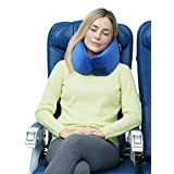 *NEW* Travelrest - Ultimate Memory Foam Travel Pillow - Therapeutic, Ergonomic & Patented - Washable Cover - Most Comfortable Neck Pillow