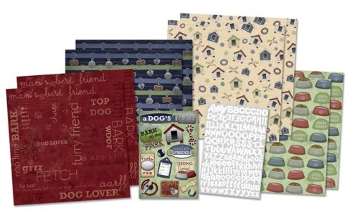 Karen Foster Design Scrapbook Kit Furry Friends
