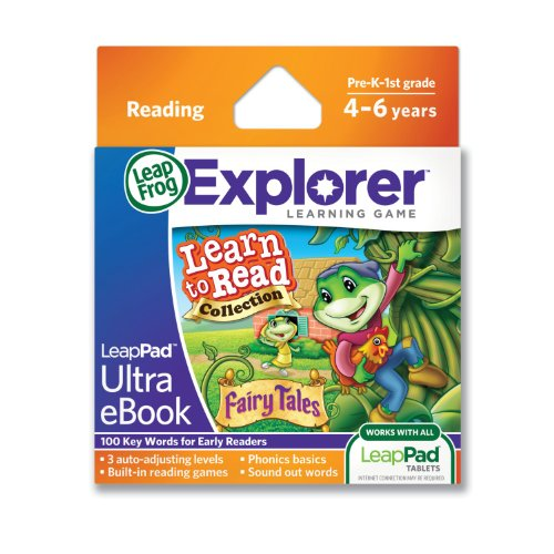 LeapFrog LeapPad Ultra eBook Learn to Read Collection: Fairy Tales (works with all LeapPad tablets) - 1