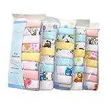 CuteOn Baumwolle Weiche Baby-Waschlappen Baby-Handtücher