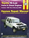 img - for Toyota Hi-Lux P&D Automotive Repair Manual: 97-05 (Haynes Automotive Repair Manuals) book / textbook / text book