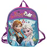 "Disney Frozen 11"" Mini Toddler Pre-school Childrens Backpack - Anna and Elsa"