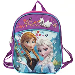"Disney Frozen 11"" Mini Toddler Pre-school Childrens Backpack - Anna and Elsa"