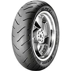 Dunlop Elite 3 Touring Cruiser Motorcycle Tire - Black - 160/80B16, Bias / Rear