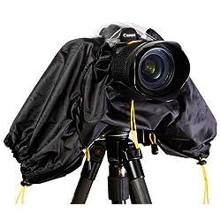 Polaroid SLR Rain Cover Protector For The Olympus Evolt PEN E-P3 PEN E-P2 E-PL1 E-PL2 PEN E-PL3 E-PL5 E-PM1 E-PM2 GX1 OM-D E-M5 E-M1 E-M10 E-P5 E-30 E-300 E-330 E-410 E-420 E-450 E-500 E-510 E-520 E-600 E-620 E-1 E-3 E-5 Digital SLR Cameras
