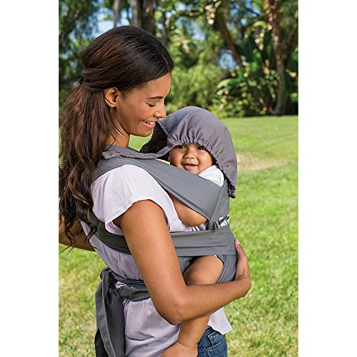 Infantino-Sash-Mei-Tai-Carrier-BlackGray
