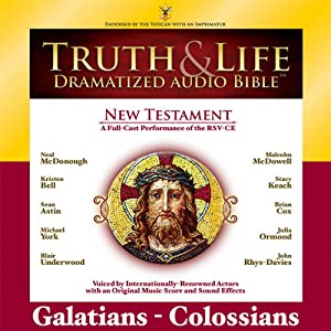 Truth and Life Dramatized Audio Bible New Testament: Galatians, Ephesians, Philippians, and Colossians | [Zondervan]