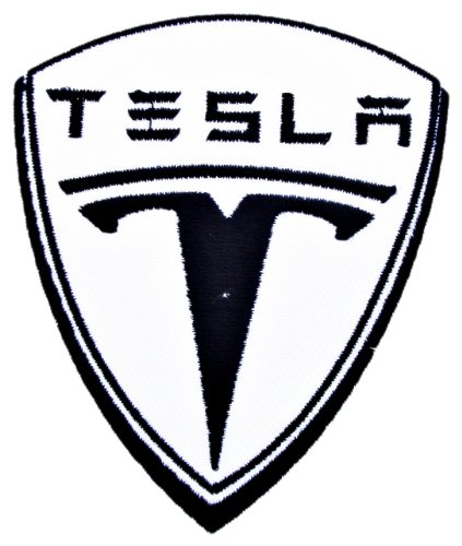 TESLA Motor Electric Cars T Shirts CT06 Iron on Patches (Automotive Iron On Patches compare prices)