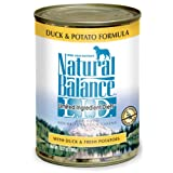 Natural Balance Duck and Potato Formula Dog Food (Pack of 12 13-Ounce Cans)