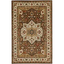 Hot Sale Jaipur Rugs Poeme Indian Brown/Cloud White Rug 9.6' x 13.6'