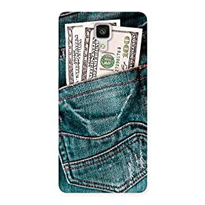 Gorgeous Full Dollar Jeans Back Case Cover for Xiaomi Mi 4