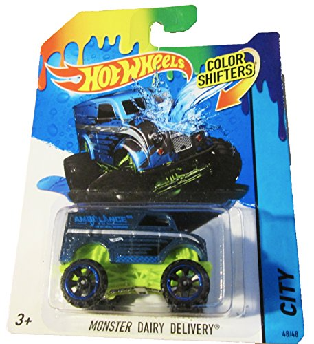 1 X Hot Wheels - HW City Color Shifters 48/48 - Monster Dairy Delivery - 1