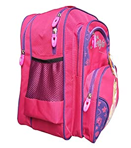 Pink And Blue Beauty Girls School Backpack Bag