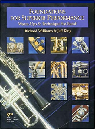 W32TC -Foundations for Superior Performance: Warm-ups and Technique for Band : Euphonium T.C.