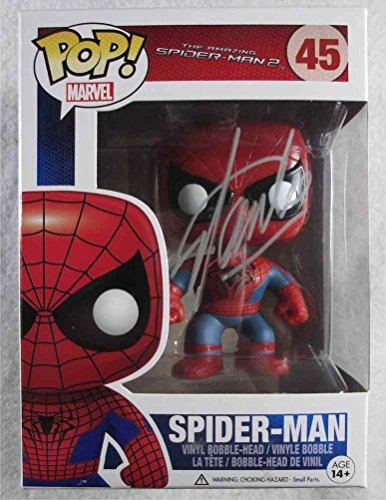 Stan Lee Spiderman Autographed Signed Funko Pop Doll Certified Authent
