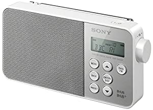 Sony XDRS40 DAB/DAB+/FM Ultra Compact Digital Radio - White