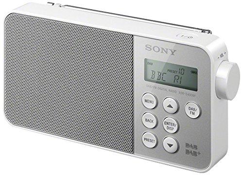 Sony XDRS40 DAB/DAB+/FM Ultra Compact Digital Radio - White