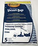3500/5900 Samsung Vacuum Replacement Bag (5 Pack)