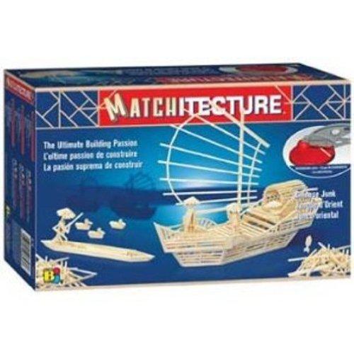 Matchitecture Chinese Junk Match Construction Kit