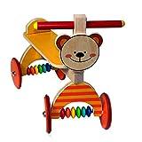 Hess Holzspielzeug 31176 - Rutscher Bär aus Holz