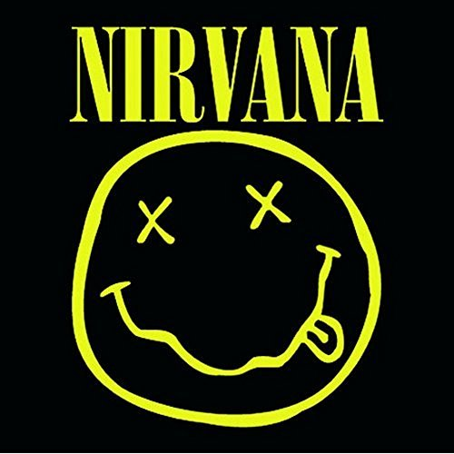 Nirvana-Sottobicchiere, motivo: Smiley